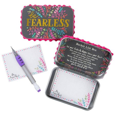 Natural Life Be Fearless Prayer Box