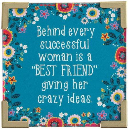 Natural Life Successful Woman - Best Friend Magnet