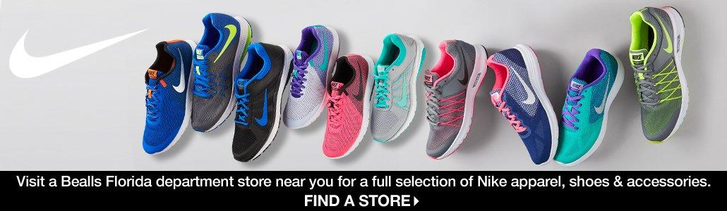 Visit a Bealls Florida store for a full selection of Nike