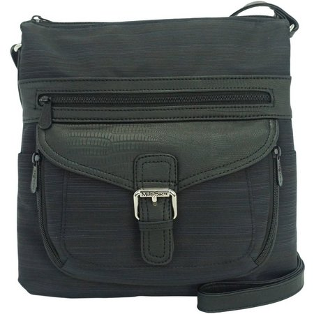 MultiSac Black Contour Yukon Crossbody Handbag