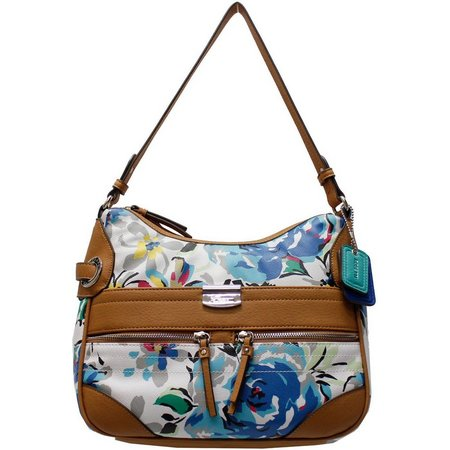 Rosetti Lottie Floral Hobo Handbag