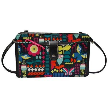 Lily Bloom Harriet Pop Art Patchwork Handbag