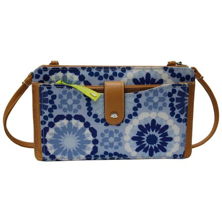 Lily Bloom Harriet Sahara Denim Blue Handbag