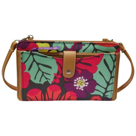 Lily Bloom Harriet Tropical Pop Floral Handbag