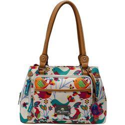 Lily Bloom Maggy Tweety Twig Satchel Handbag