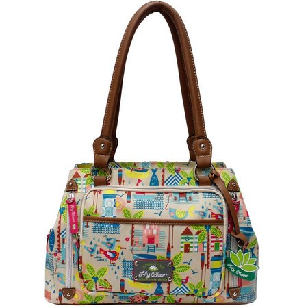Lily Bloom Maggy Beach House Satchel Handbag