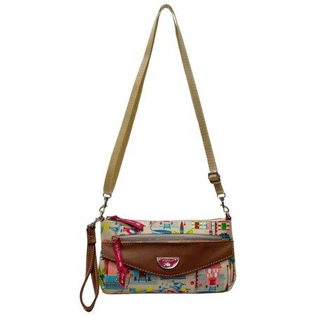 Lily Bloom Ashley Beach House Crossbody Handbag