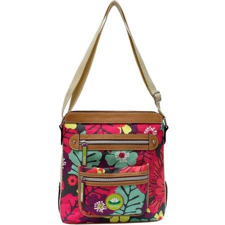 Lily Bloom Bella Tropical Pop Crossbody Handbag