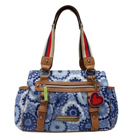 Lily Bloom Landon Sahara Satchel Handbag