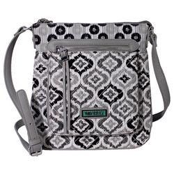 Waverly Ikat Crossbody Handbag