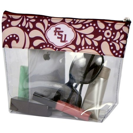 Florida State Clear Travel Pouch By DESDEN