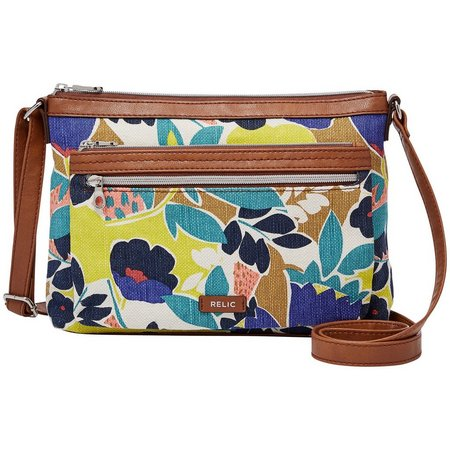 Relic Floral Evie Adjustable Crossbody Handbag