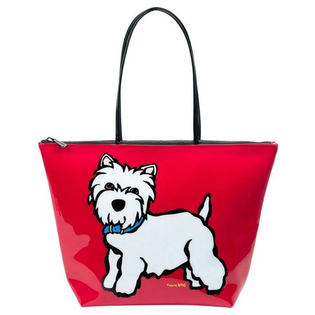 Marc Tetro Westie Red Handbag