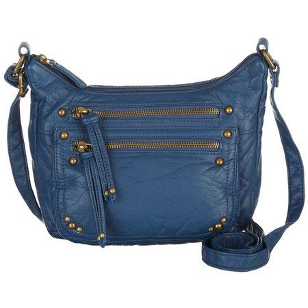 Bueno Vintage Grain Wash Mini Crossbody Handbag