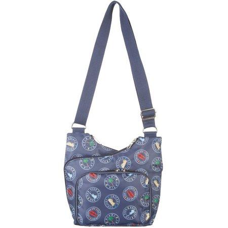 Bueno Multi Compartment Crossbody Handbag
