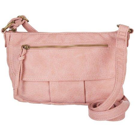 Bueno Washed Antique Small Crossbody Handbag