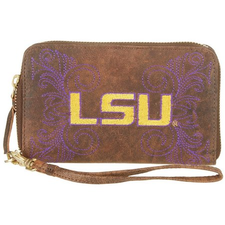 Gameday Boots LSU Tigers Wristlet