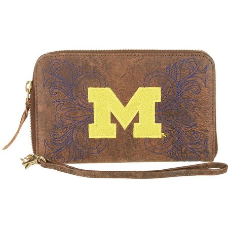 Gameday Boots Michigan Wolverines Wristlet