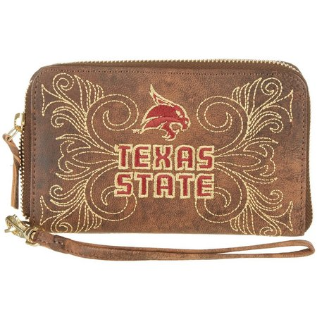 Gameday Boots Texas State Bobcats Wristlet