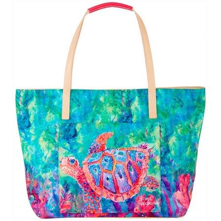 Leoma Lovegrove The Chaperone Sea Turtle Beach Bag