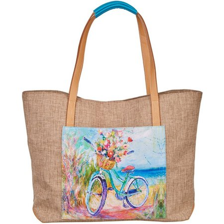 Leoma Lovegrove Beachin Ride Beach Bag Tote