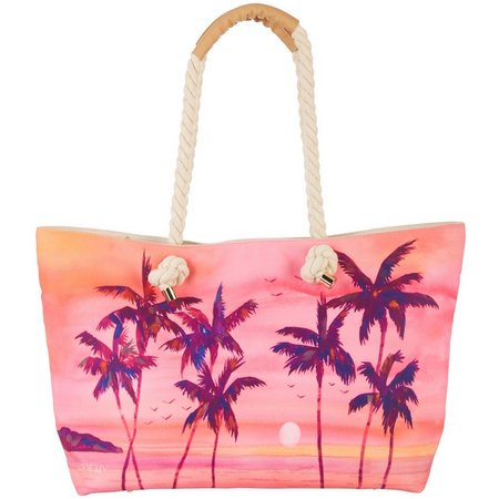 Ellen Negley Shaded Sunsets Tote Handbag