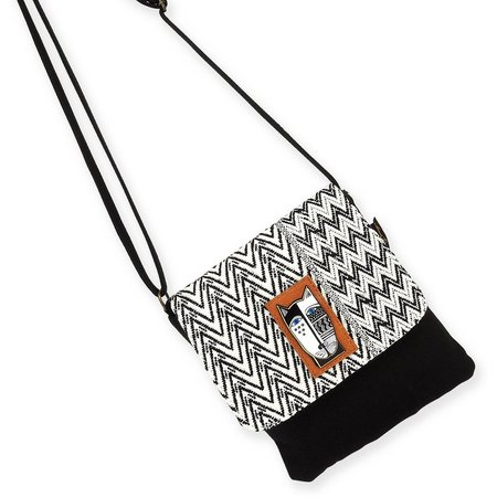Laurel Burch Wild Cat Flap Crossbody Handbag
