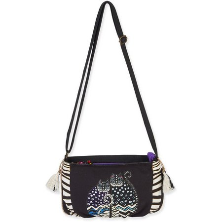 Laurel Burch EW Cat Crossbody Handbag