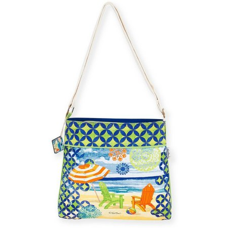 Paul Brent Geo Beach Crossbody Handbag