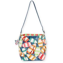 Paul Brent Rowboat Reflection Crossbody Handbag