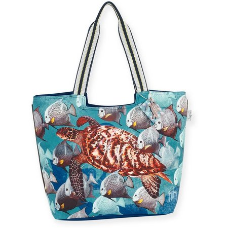 Guy Harvey Shades Of Grey Beach Bag Tote