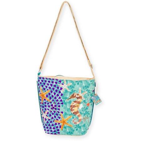 Guy Harvey Seahorse Crossbody Handbag