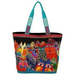 Laurel Burch Fantasticat Tote Handbag
