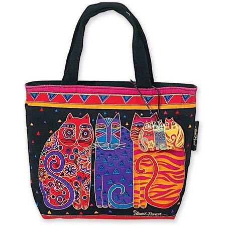 Laurel Burch Feline Friends Tote Handbag