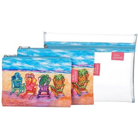 Leoma Lovegrove Front Row Seats Cosmetic Bag Set