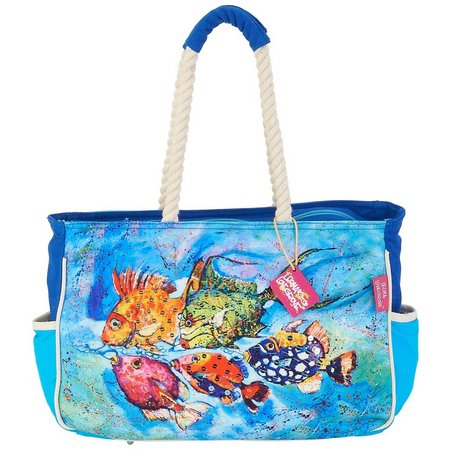 Leoma Lovegrove Catch & Release Medium Beach Bag