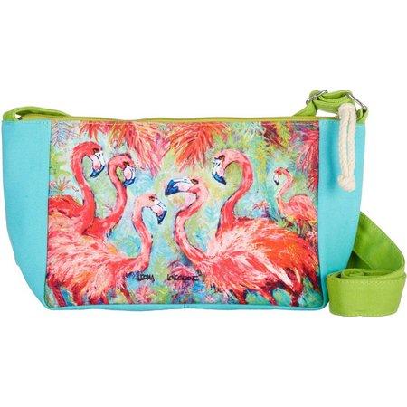 Leoma Lovegrove Pink Power Crossbody Handbag
