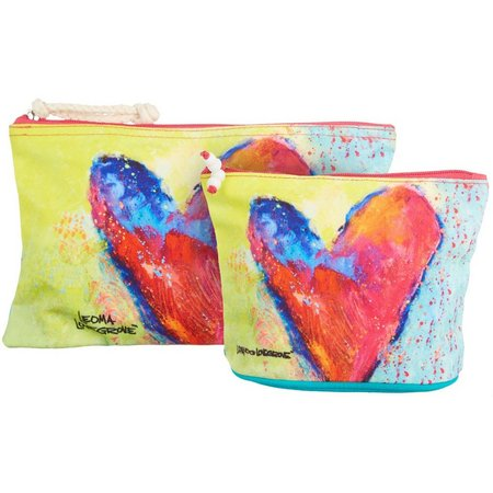 Leoma Lovegrove 2-pc. Art Throb Cosmetic Bag Set