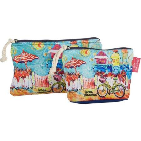 Leoma Lovegrove Happy Place 2-pc. Cosmetic Bag Set