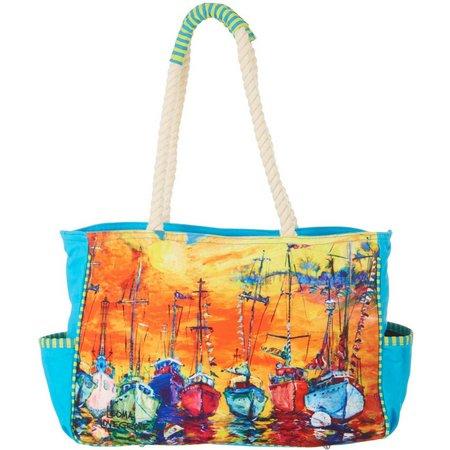 Leoma Lovegrove Sailors Delight Beach Bag Tote