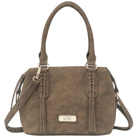 Nicole Miller New York Carter Satchel Handbag