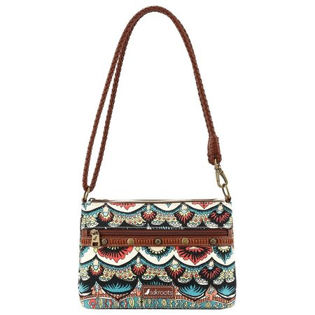 Sakroots Campus Abstract Mini Crossbody Handbag