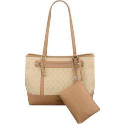 Nine West 9's Jacquard Tote Handbag