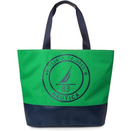 Nautica Marine League Tote Handbag
