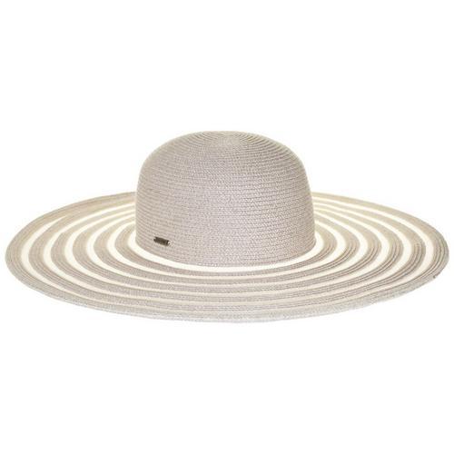 4acc89bee43 Nine West Womens Paper Blend Floppy Straw Hat