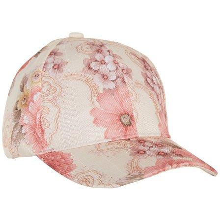 95ee832c5fe Lulu Womens Textured Floral Print Baseball Hat