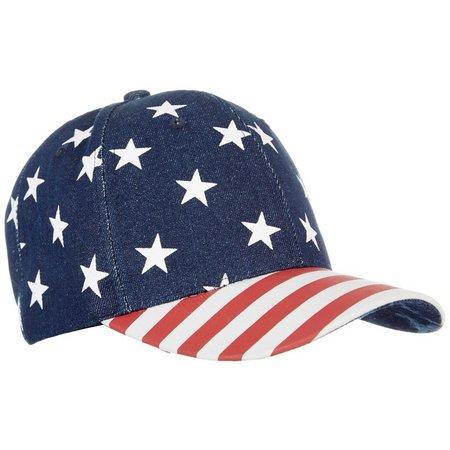 Lulu Womens Americana Flag Hat