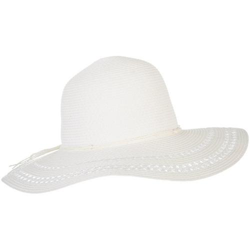 d351c890ce9 Mad Hatter Womens Vented Brim Bow Sun Hat