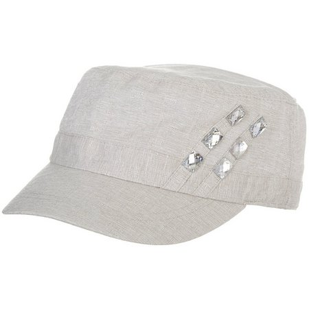Bay Studio Womens Military Gem Hat
