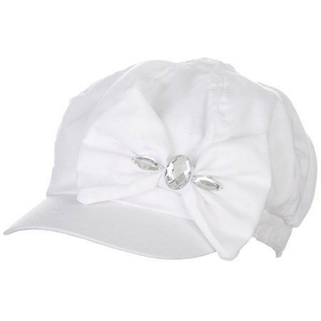 Bay Studio Womens Bow & Stone Cabby Hat